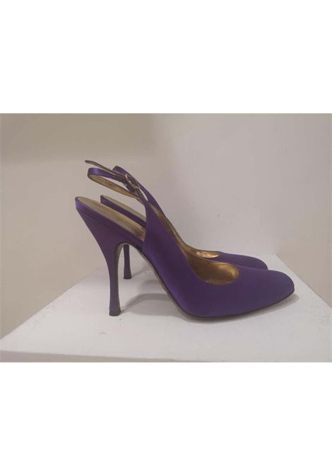 Dolce & Gabbana Silk satin purple Sandals Dolce&Gabbana | Shoes | EC01970XSSRASO DI SETA