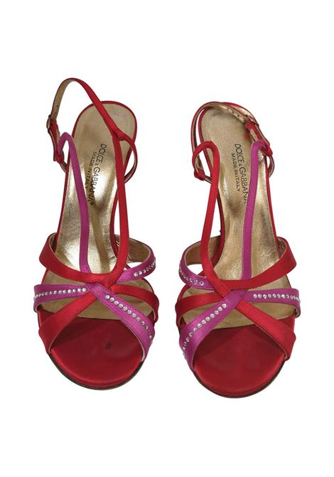 Dolce & Gabbana Silk satin sandals Dolce&Gabbana | Scarpe | EC01970XSSROSSO VIOLA