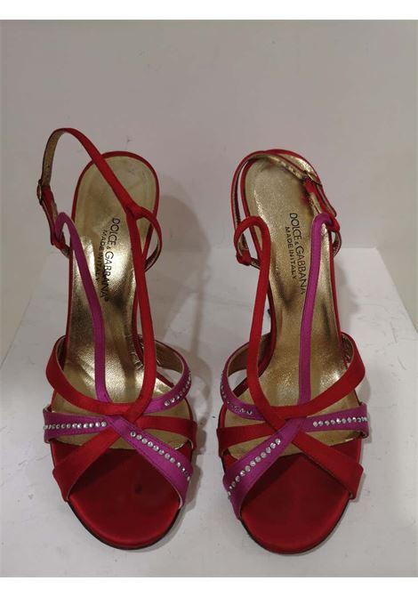 Dolce & Gabbana Silk satin sandals Dolce&Gabbana | Shoes | EC01970XSSROSSO VIOLA