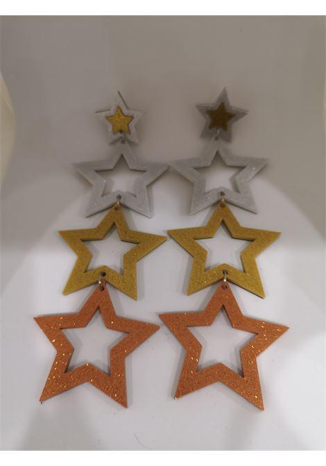 Doodad glitter stars pendant earrings Doodad Fandango | Earrings | HOLLYWOOD-