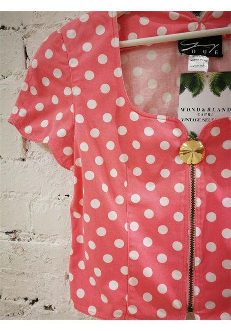 Genny Pink White Pois Jacket Genny | Giacca | LE01910X0ROSA