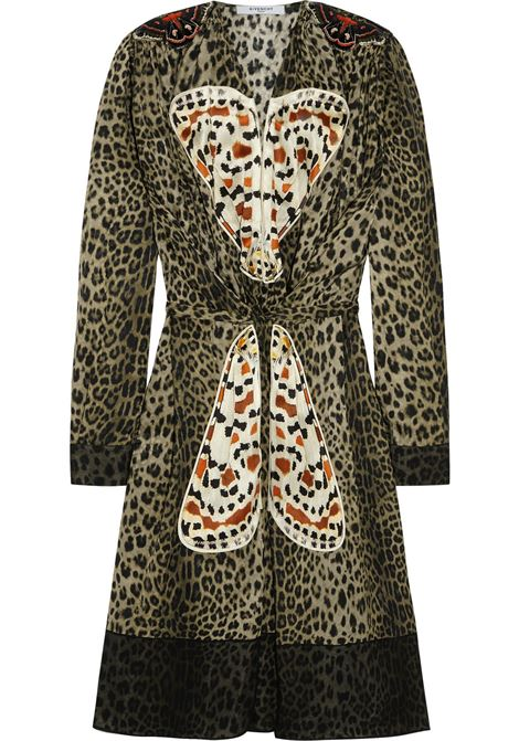 Givenchy Leopard Butterfly Dress