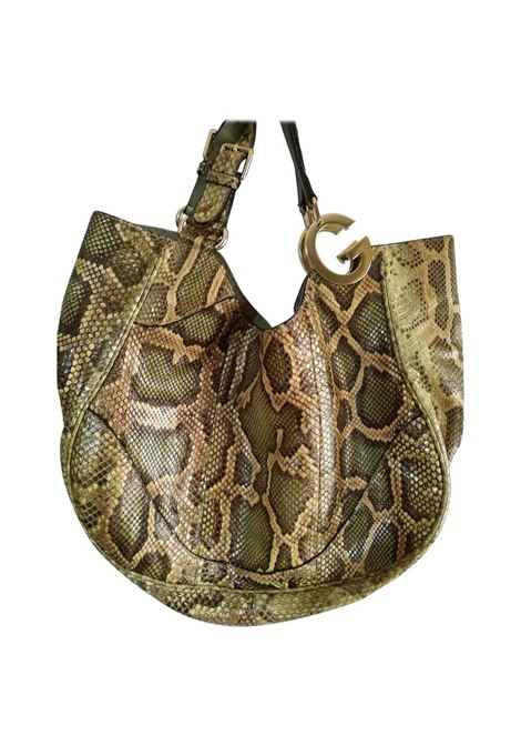 Gucci Green nude tone Python Skin Shoulder Bag gucci | Bag | LE01912Z00AXPITONE