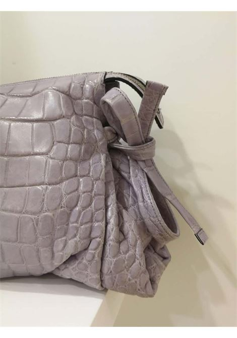 2008 Gucci unique limited edition crocodile leather hysteria lilla bag gucci | Bag | LE01930XS00COCCODRILLO