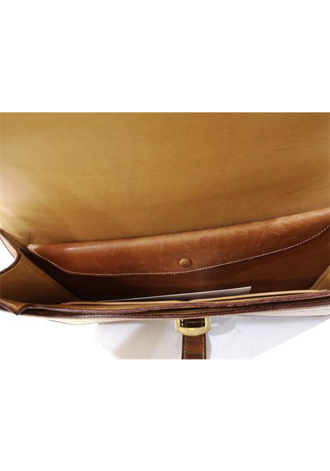 1960 Hermes leather and textile Handle Bag  Hermes | Borsa | GM01950X0PELLE TELA