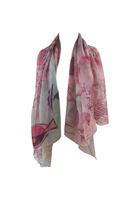 Hermès Under the Waves Silk Scarf , shawl Still with box Hermes | Scialle | MOUSELLINE140CM SILK