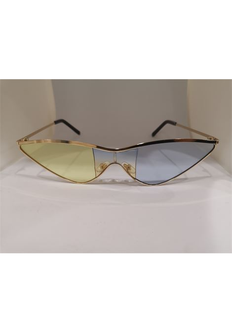 Kommafa light blue yellow lens gold sunglasses Kommafa | Occhiali | BICCEL GIAL