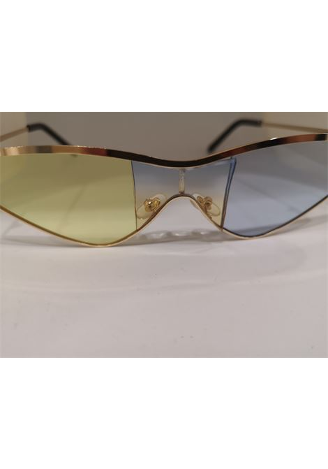 Kommafa light blue yellow lens gold sunglasses Kommafa | Sunglasses  | BICCEL GIAL