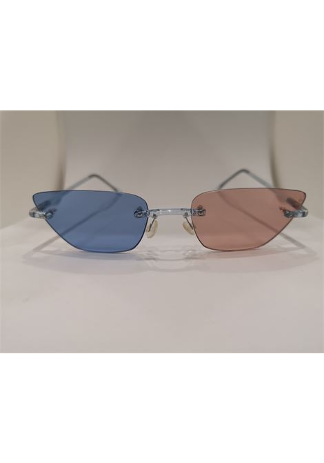 Kommafa light blue pink sunglasses Kommafa | Occhiali | BICOLOURCELESTE ROSA