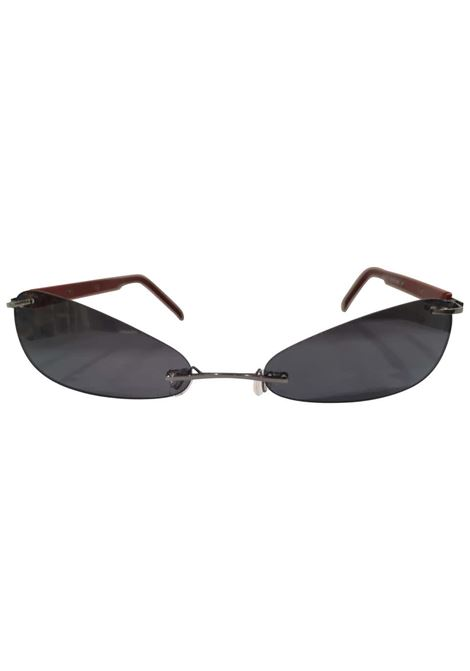 Kommafa black lens bordeaux sunglasses Kommafa | Sunglasses  | BORDEAUXBLACK