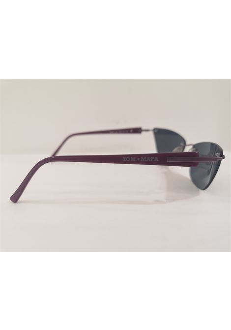 Kommafa black purple sunglasses Kommafa | Sunglasses  | BORDEAUXOCCHI DI GATTO