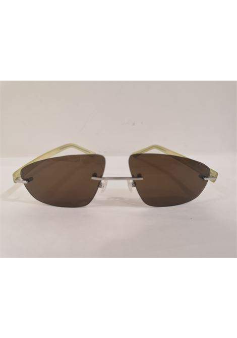Kommafa brown yellow sunglasses Kommafa | Occhiali | GIALLOMARRONW