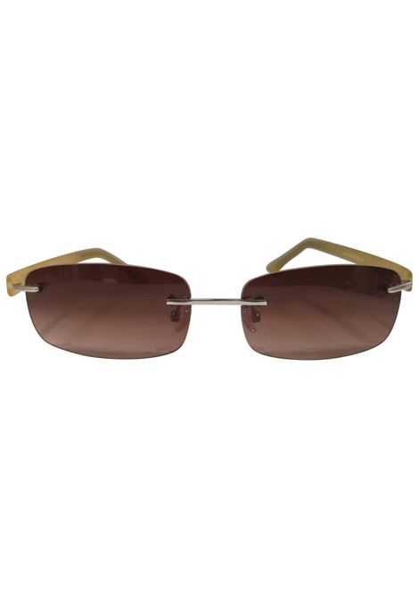 Kommafa brown yellow sunglasses Kommafa | Occhiali | GIALLORETT
