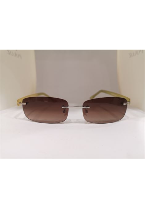 Kommafa brown yellow sunglasses Kommafa | Sunglasses  | GIALLORETT