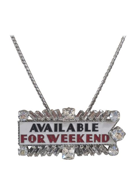 LisaC silver available for weekend necklace Lisa C. Bijoux | Collana | BABY ALOHAAAA