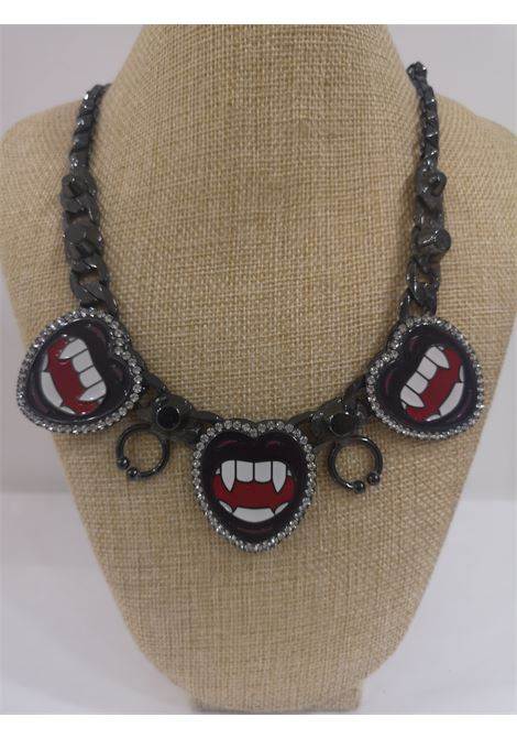 LisaC black mouth piercing necklace Lisa C. Bijoux | Necklaces | BABY ALOHANERO