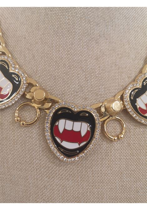 LisaC gold tone mouth piercing necklace Lisa C. Bijoux | Necklaces | BABY ALOHAORO
