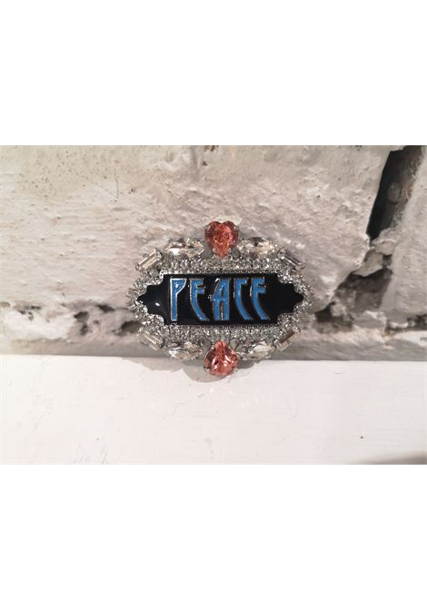 LisaC Peace swarovski brooch Lisa C. Bijoux | Spilla | BELIVE-