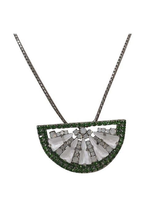 LisaC swarovski watermelon necklace Lisa C. Bijoux | Collana | WAIKIKI-