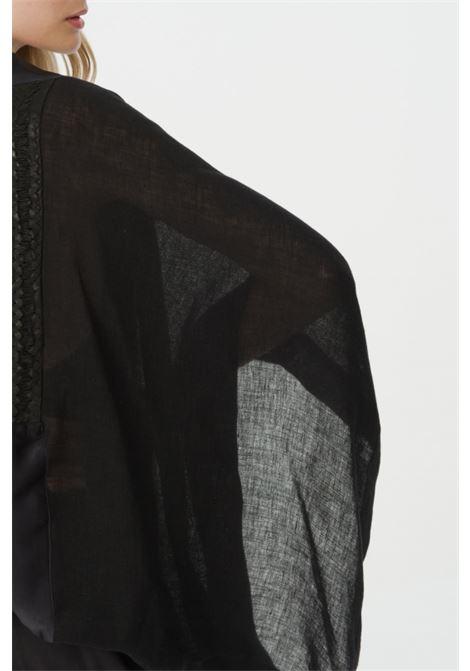 leather maurizio mykonos | Cardigan | 07601466NERO