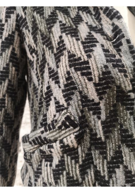 Missoni grey multicoloured wool jacket Missoni | Giacca | VXR0194E0XCSGLANA