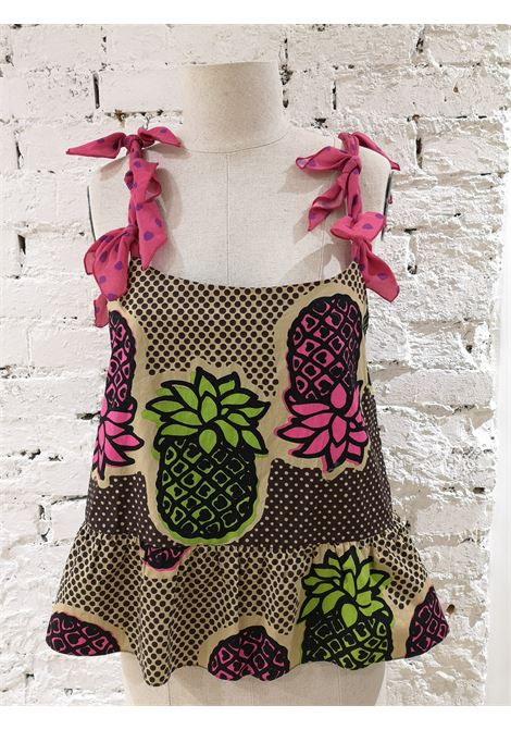 Moschino Vintage Pineapple Top Moschino | Undershirts | CANOTTA ANANASANANAS