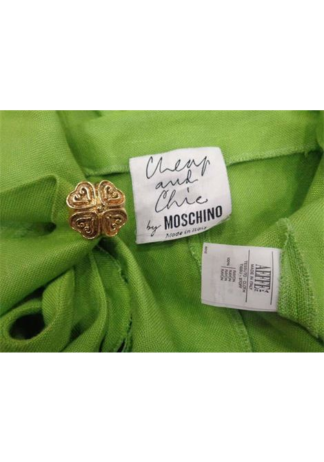 Moschino Green gold tone hardware Dress moschino | Dresses | LE019100XSZVERDE
