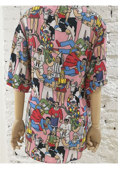 Moschino Pink characters shirt Moschino | Camicia | SD019450XSROSA MUCCA