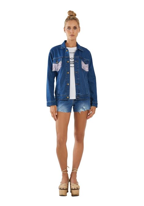 House of Muamua | Giacca | DENIM JACKETIN MEMORY OFF