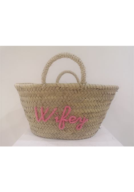 Wifey rafia handbag Poolside bag | Bags | MINI MARKETWIFEY