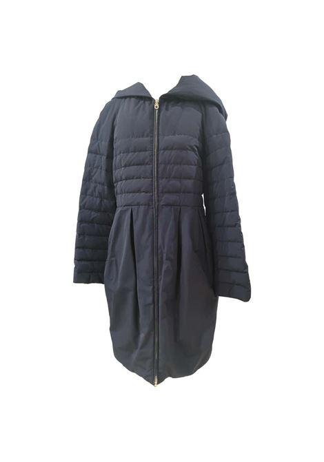 Salvatore Ferragamo blue bomber jacket coat Salvatore Ferragamo | Coats | BF019300EWX0BLU