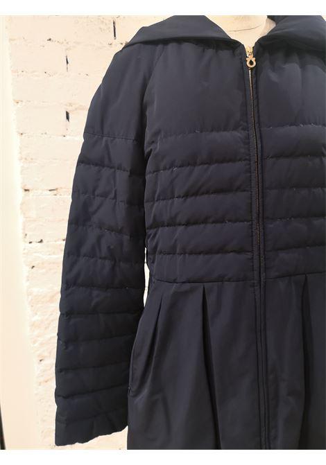 Salvatore Ferragamo blue bomber jacket coat Salvatore Ferragamo | Cappotto | BF019300EWX0BLU