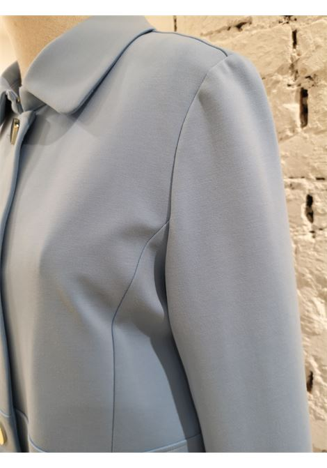Scee Light Blue Coat Scee | Coats | BL01970XSACELESTE