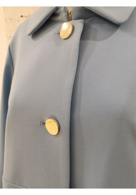 Scee Light Blue Coat Scee | Cappotto | BL01970XSACELESTE