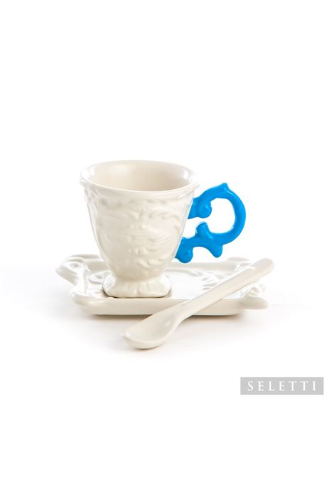 porcellana Seletti | Set da caffe | 09859AZZURR