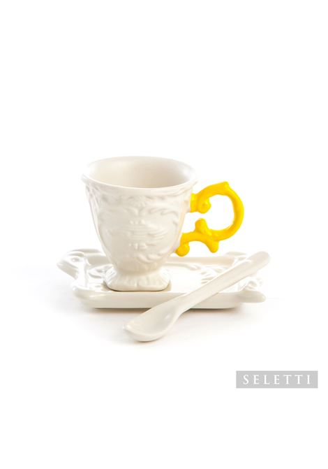 porcellana Seletti | Set da caffe | 09859GIALLO