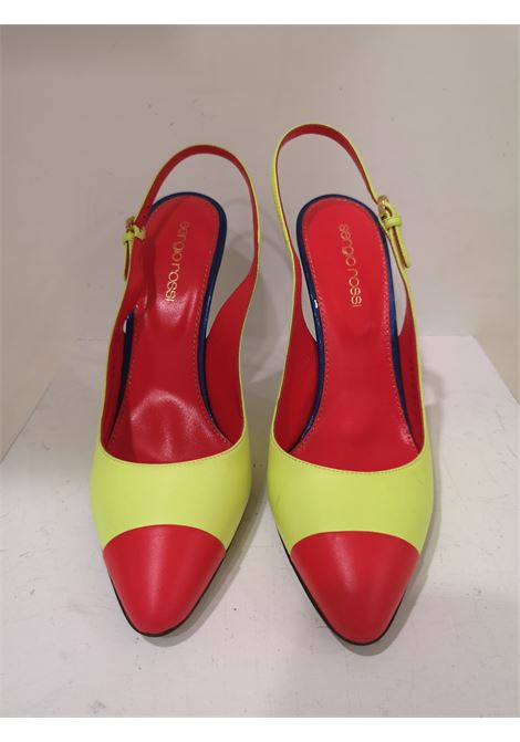 Sergio Rossi Red Blue Fluo Yellow Decollete Sergio Rossi | Scarpe | MG01910XS0MULTICOLOR