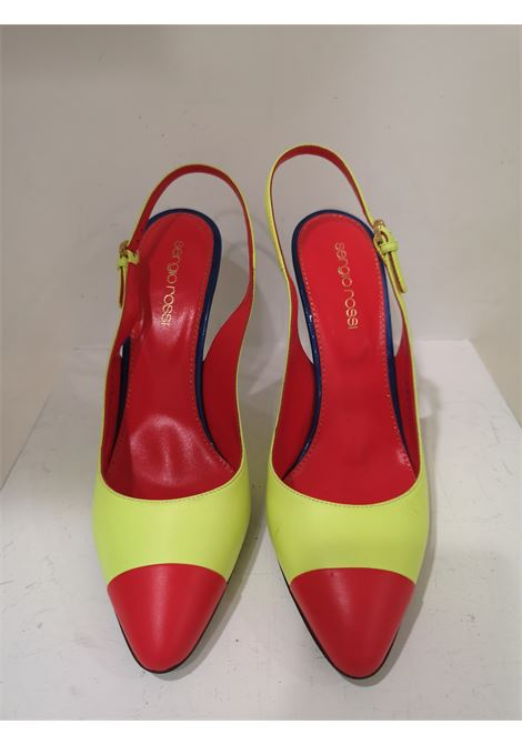 Sergio Rossi Red Blue Fluo Yellow Decollete Sergio Rossi | Shoes | MG01910XS0MULTICOLOR