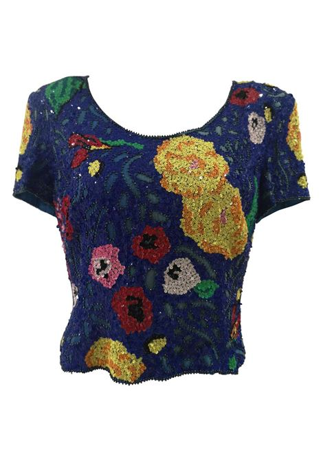 SOAB blue sequins shirt  Soab Capri | Tops | VXR0195SXAAAELLA SINGL