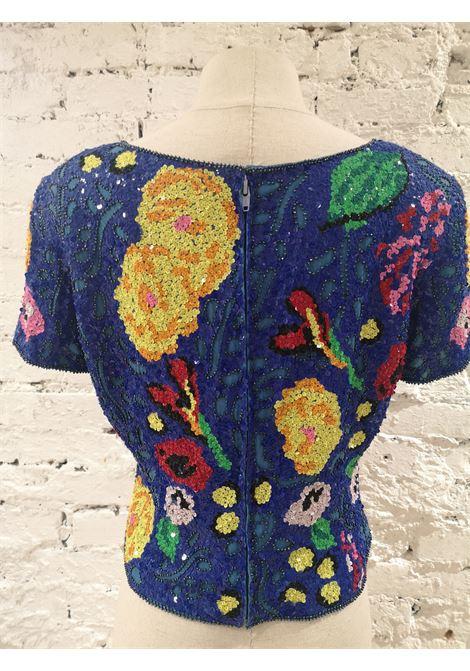SOAB blue sequins shirt Soab Capri | Top | VXR0195SXAAAELLA SINGL