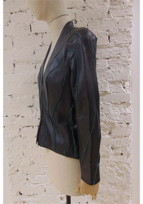 Thierry Mugler Leather Jacket Thierry Mugler | Jackets | LE01970X0PELLE
