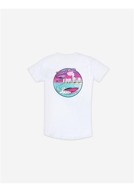 Maglia Miami Lover bianca Twicetoonice | T-Shirts | ZDTBIANCO