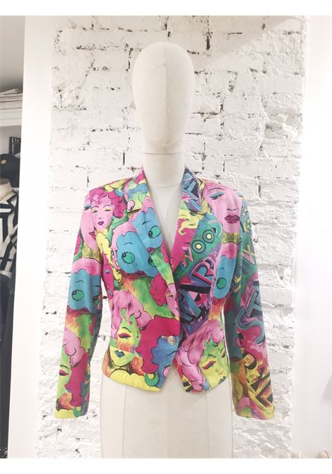 Versace Marilyn Monroe Betty Boop Cartoon Blazer Jacket Versace | Jackets | SB01930EX0BETTY