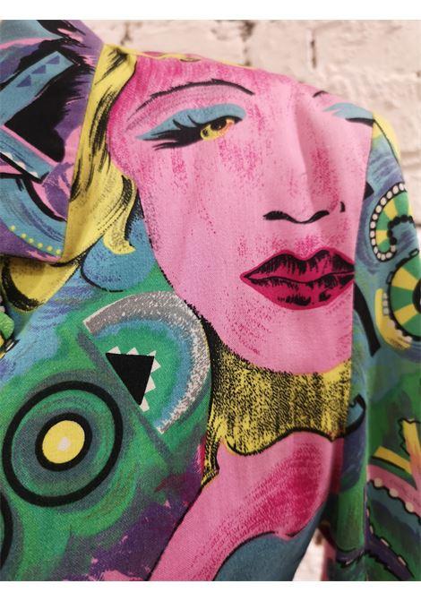 Versace Marilyn Monroe Betty Boop Cartoon Blazer Jacket Versace | Giacca | SB01930EX0BETTY