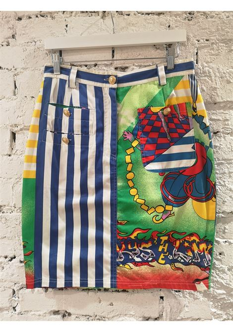 Gianni Versace jazz cotton skirt  Versace | Skirts | SZ01912S0ZQJAZZ