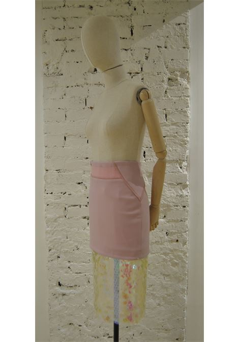 Three Floor Pink Sequines Skirt VIntage | Gonna | VXR0195XSVCBRETELLE