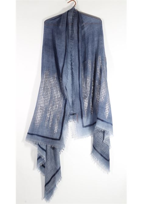 Ama Pure Cashmere stole AMA PURE | Scarf | 3244BUTTERFLY TURCHESE
