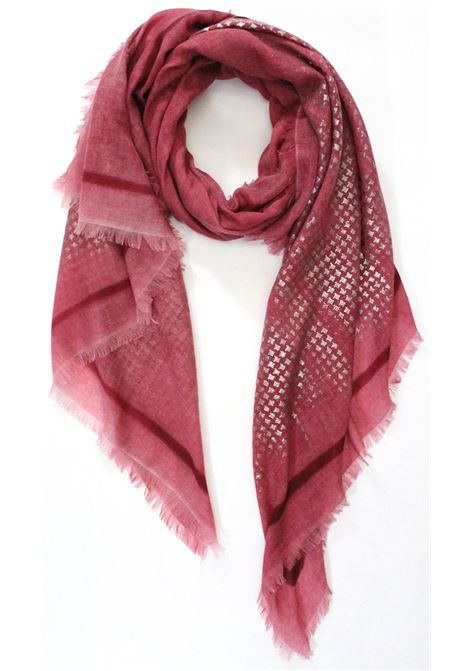 Ama Pure Cashmere stole AMA PURE | Scarf | 3245BUTTERFLY PORPORA