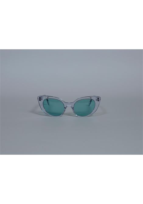Aru Eyewear green see through Sunglasses Aru eyewear | Sunglasses  | FUCSIA VERDE-