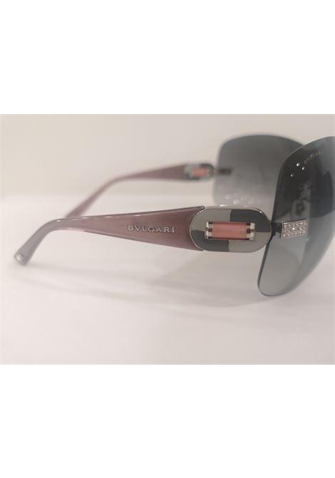 Bulgari black mask pink stem swarovski sunglasses NWOT Bulgari | Occhiali | NM020CDV140ERGFDMASCHERINA